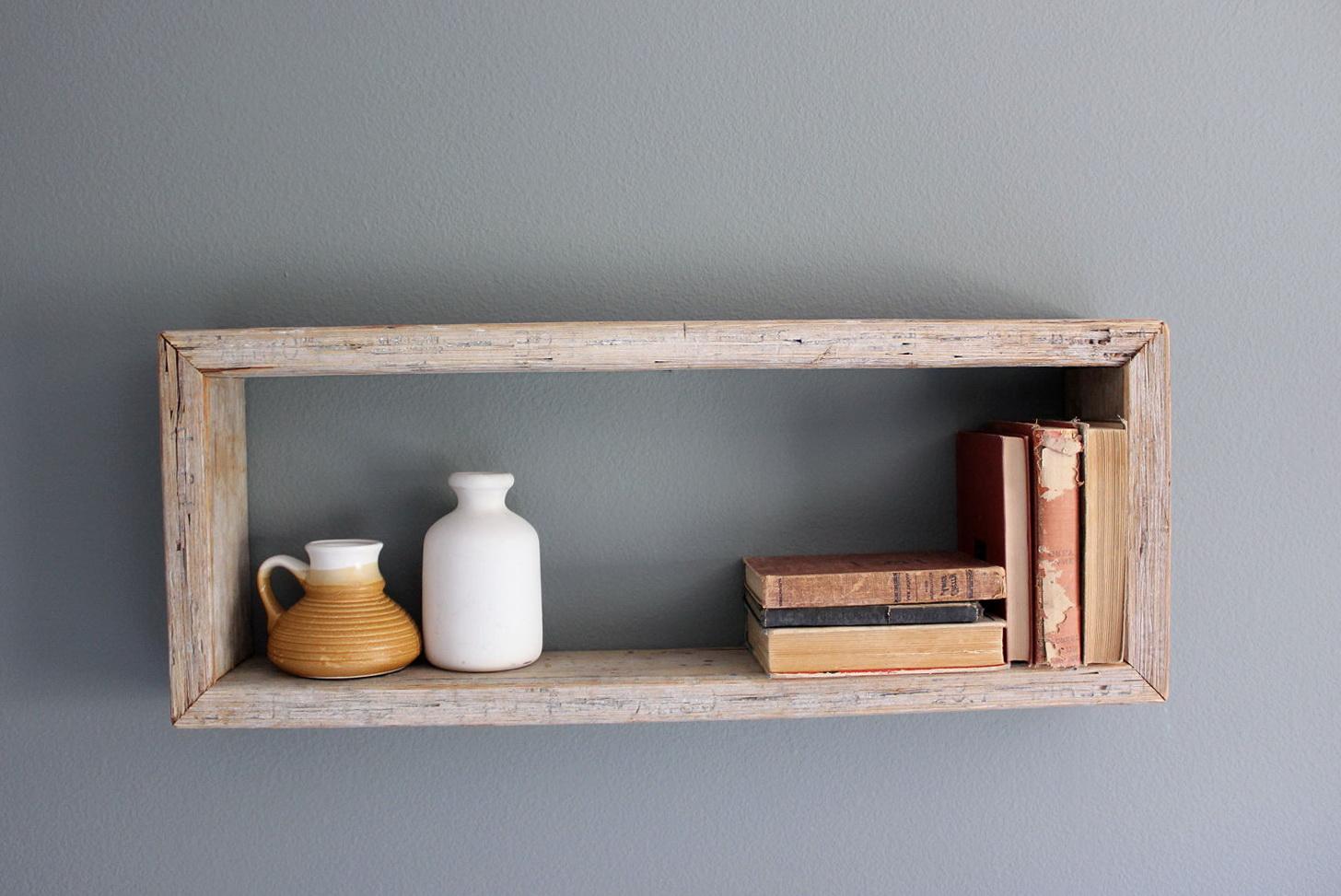 Wood Wall Box Shelves Wall Shelves 16693 Home Design Ideas