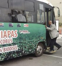 MÉXICO. El biodiesel en el transporte público puede eliminar el 90% de contaminación 7