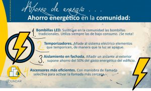 Ahorro energético en las comunidades de propietarios 12