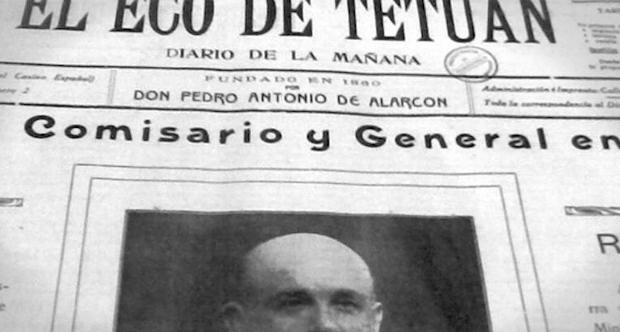 """La cabecera """"El Eco de Tetuán"""" tuvo una segunda época, entre 1911 y 1929."""