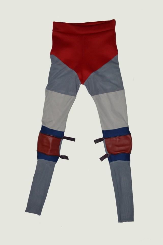 legging rouge