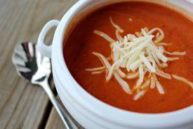 Dieta para adelgazar con sopa de tomate