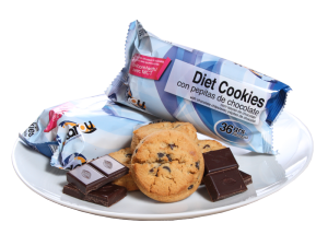 Diet Cookies con Chocolate Negro