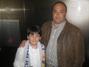 Mi hijo Pablo y yo en Febrero de 2011