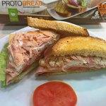 Sandwich Club con Pan bajo en carbohidratos CiaoCarb Protobread
