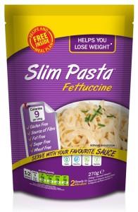 Fettuccine Slim Pasta con Costillas Barbacoa