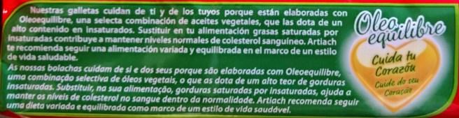 Falsos claims para la salud de las galletas Chiquilin 0% azúcares