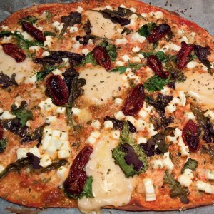 Pizza 3 quesos lowcarb