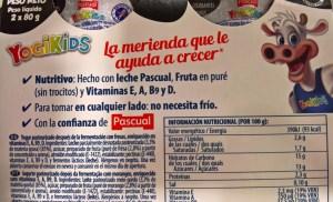 Yogur para niños YogiKids del Grupo Pascual