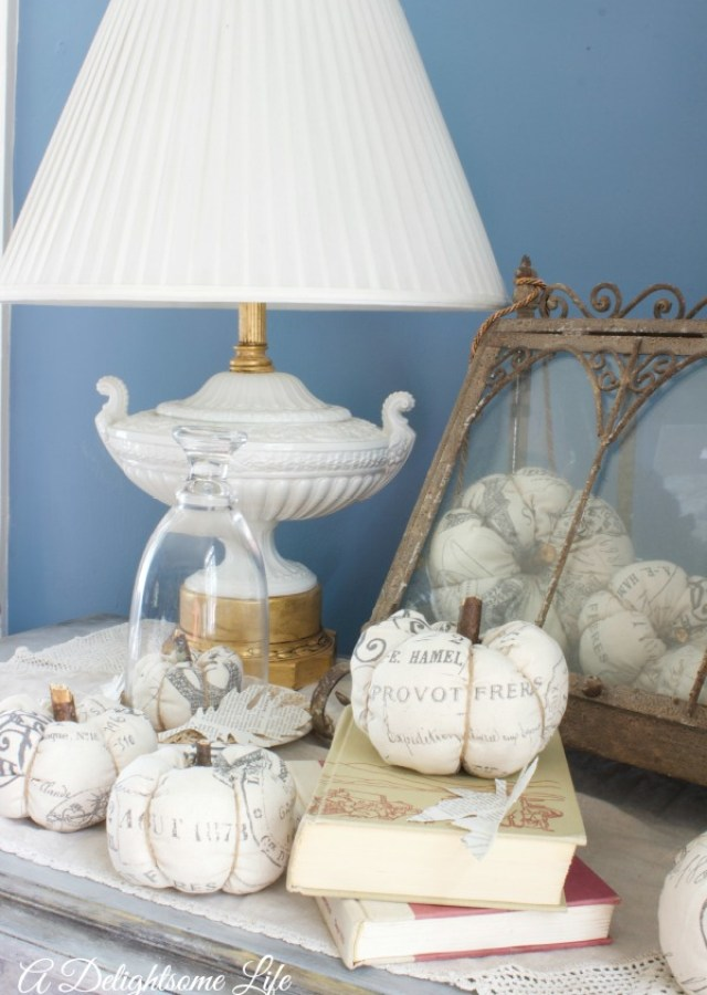 How to make fabric pumpkins a delightsome life