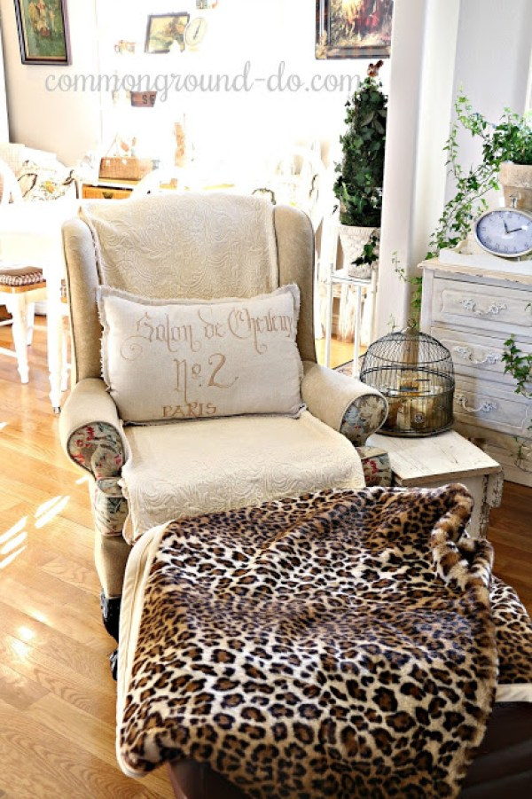 Debra Common Ground Neutral Winter Home Decor