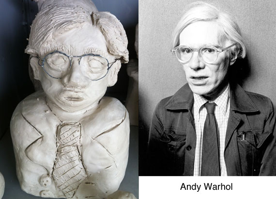 Artist Clay Busts