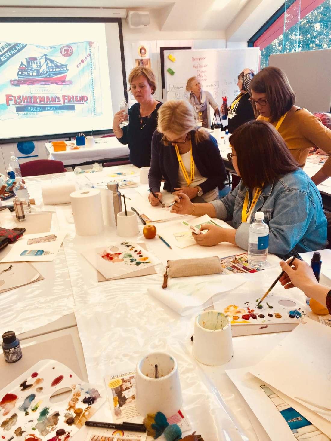 Nurturing art conference zart