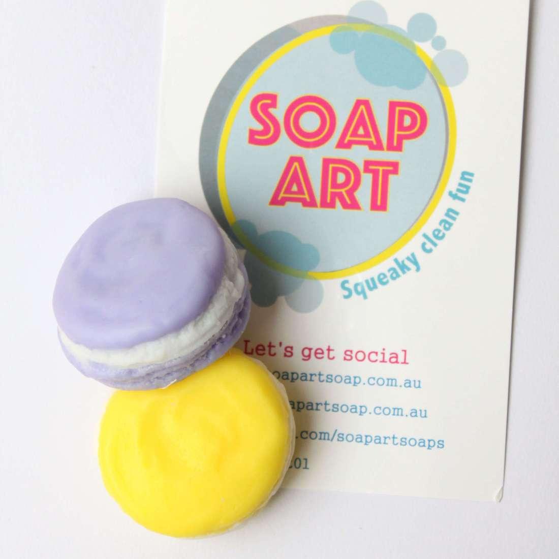 Soap Art - Macaron soaps