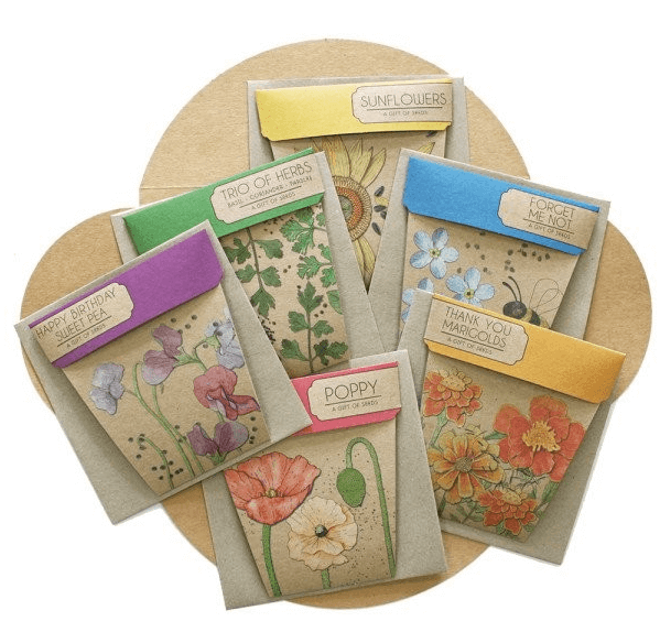 Sow 'n Sow Seed packets
