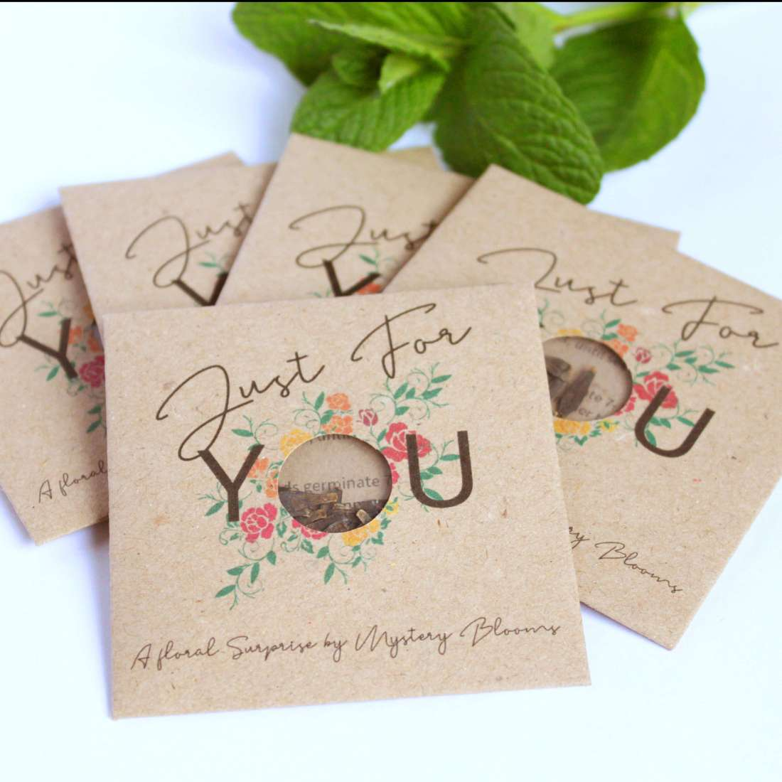 Gift Seed Packets by Mystery Blooms