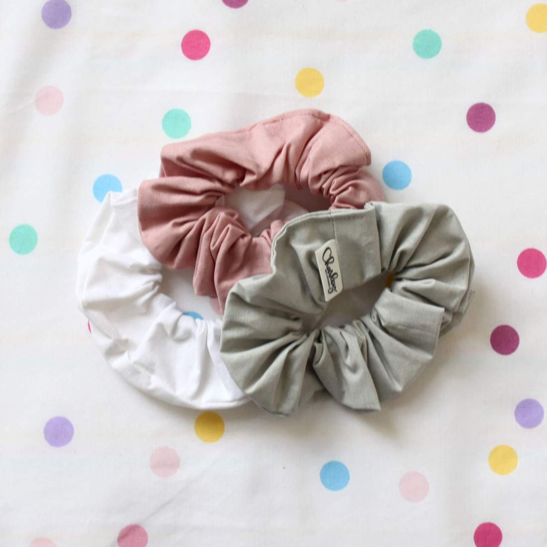 Scrunchies by Charley Melbourne