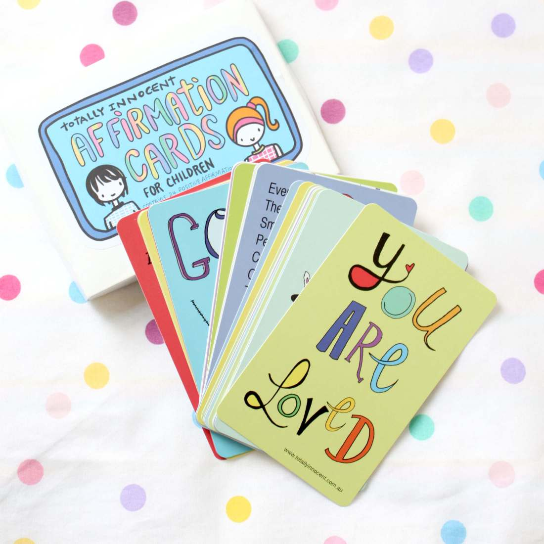 Affirmation Card Set by Totally Innocent