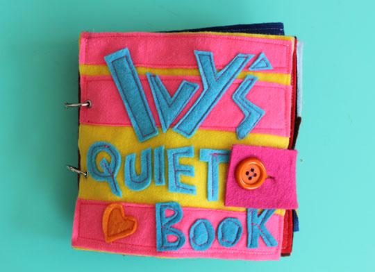 Ivy's Quiet Book