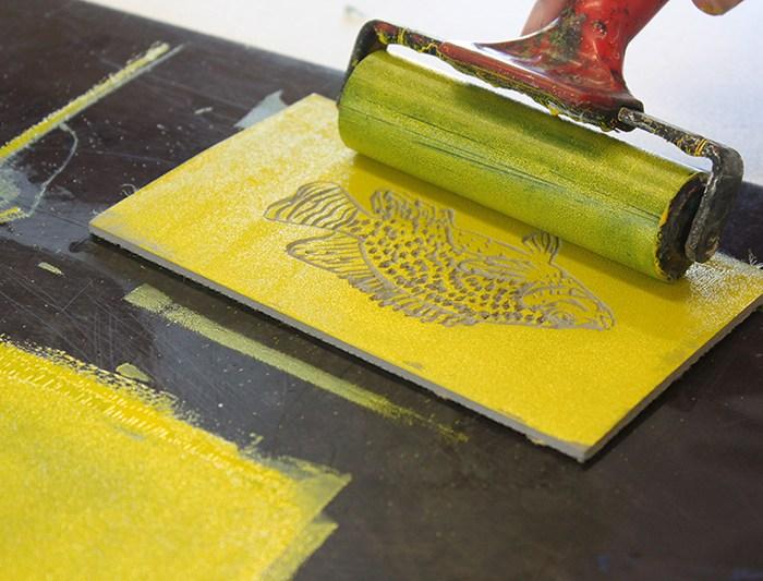 Printing Workshop – Relief printing