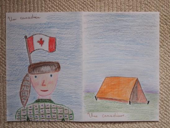 Canadien - Canadienne - Zizi des Mots