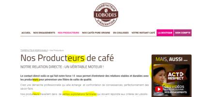 Producteurs Lobodis