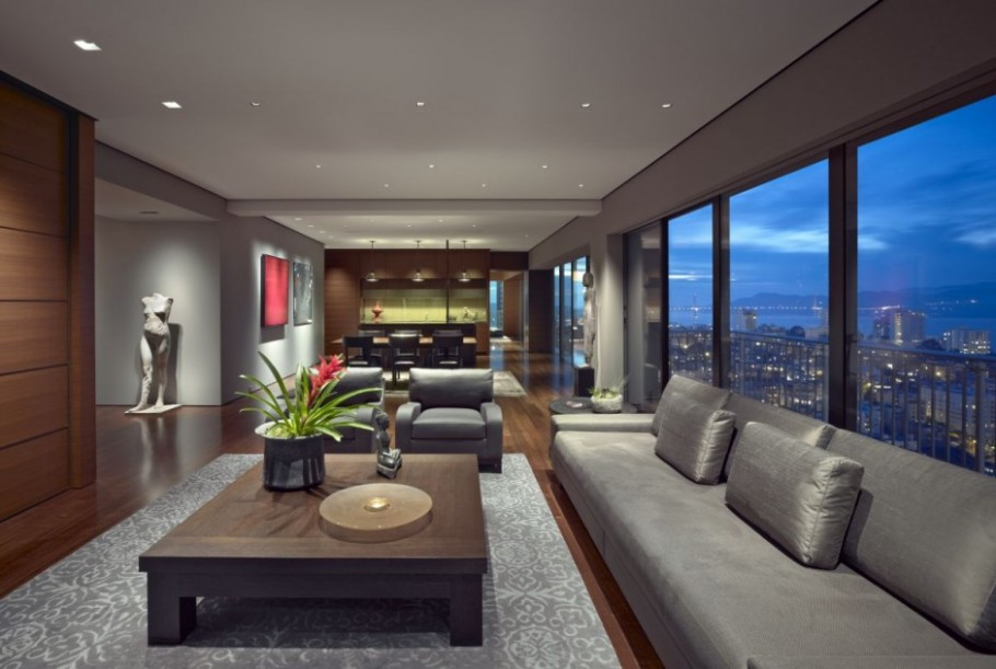 Luxury San Francisco Apartment Interior By Zackde Vito