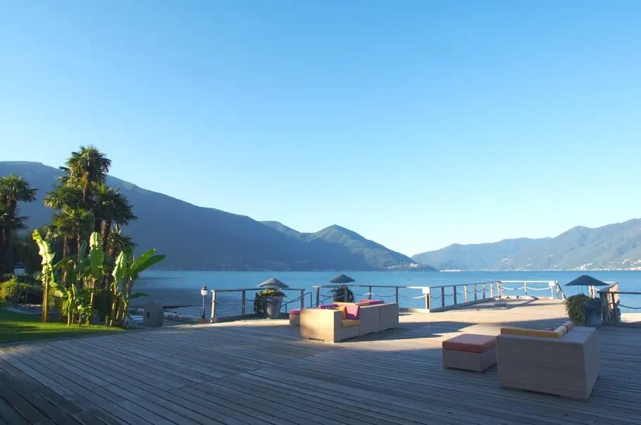 Fabulous Views Of Lake Maggiore At Hotel Eden Roc Ascona Adelto Adelto