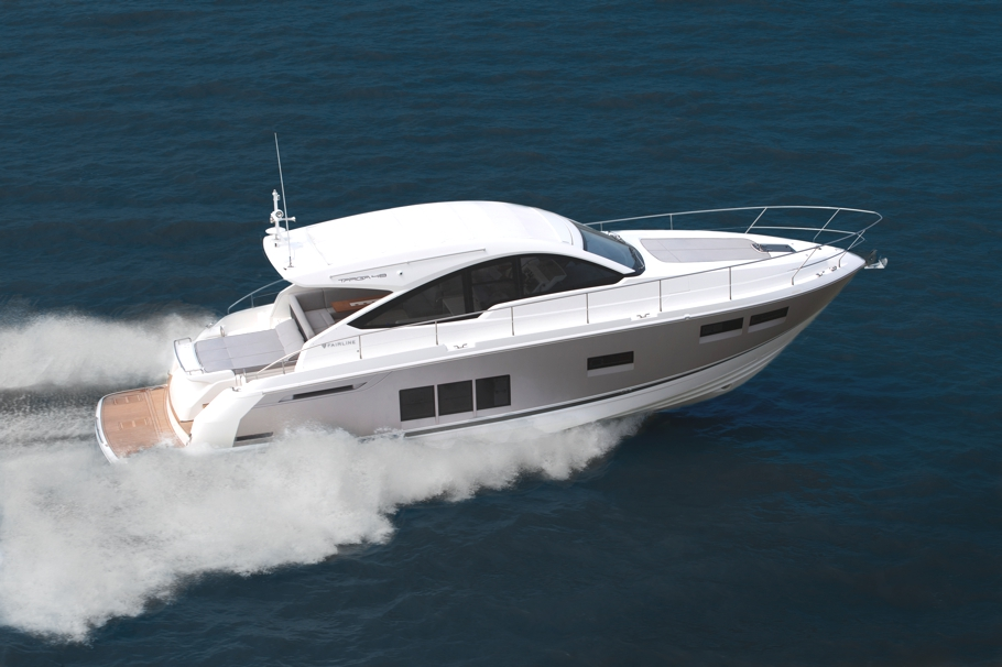 Luxury Yacht Targa 48 OPEN By Fairline Boats Adelto Adelto