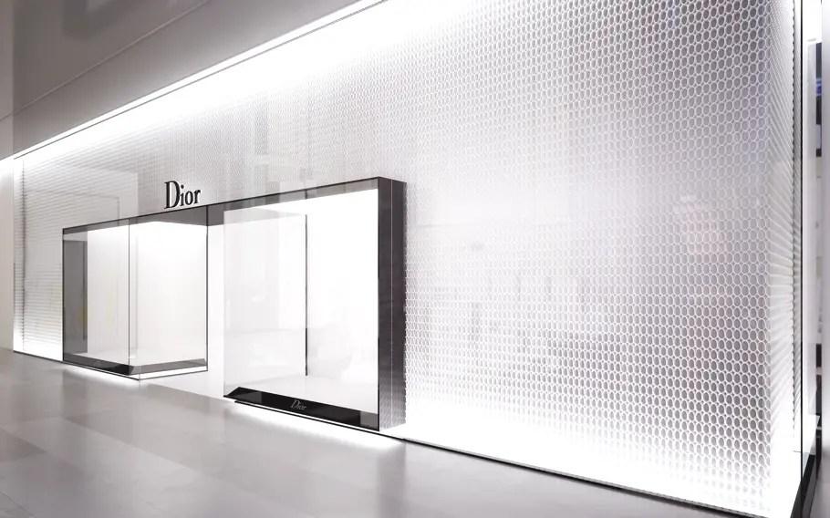 Luxury Store Design For Diors London Concept Store Adelto Adelto