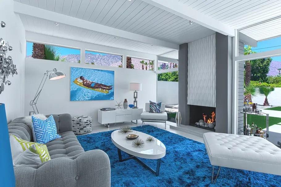 Luxury Home Interior Design Palm Springs California Adelto