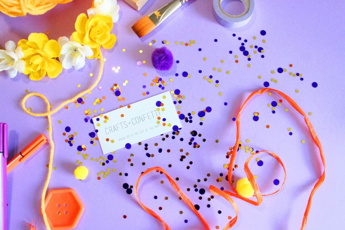 Crafts + Confetti DIY Party