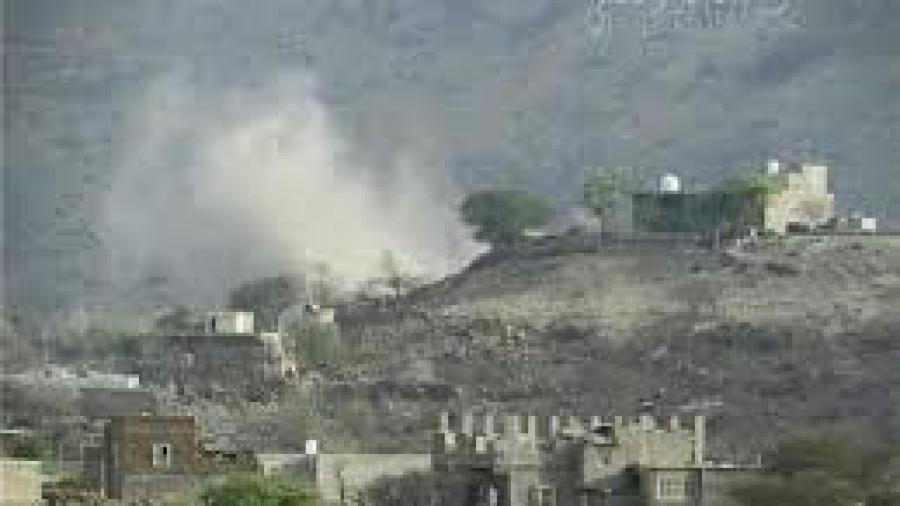 الحوثيين يرتكبون مجزرة بحق المدنيين في الظالع