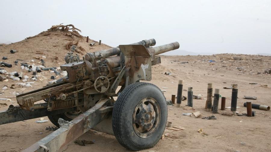 الجيش الوطني يسيطر على مناطق واسعة غرب  معسكر الخنجر