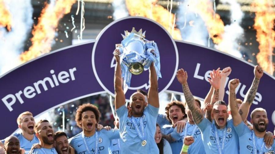 مانشستر سيتي يتوج للمرة السادسة بلقب الدوري الإنجليزي الممتاز