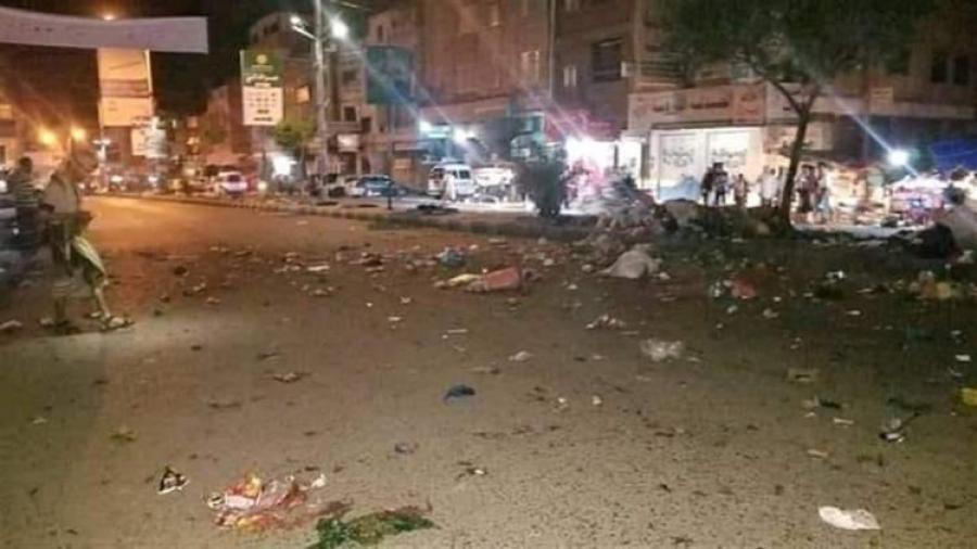 بعد انفجار واحدة وتفكيك أخرى.. إنفجار عبوة ناسفة ثالثة غرب تعز وجرح 2 مدنيين