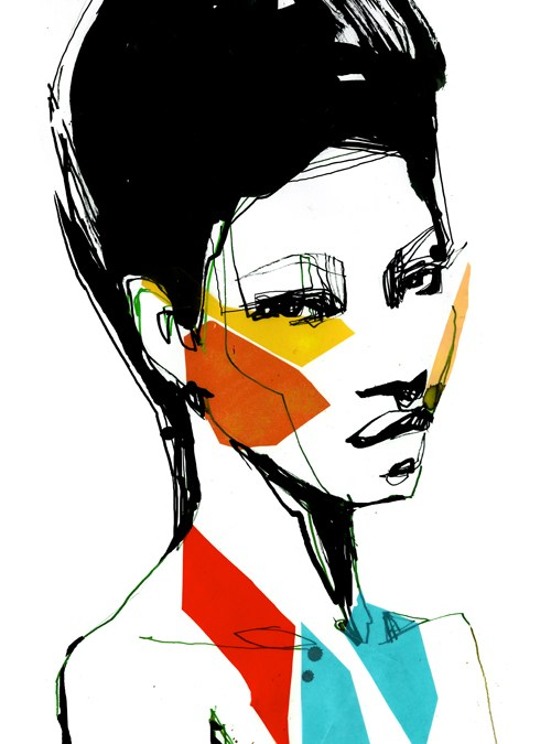 Fashion illustration // Stina Persson
