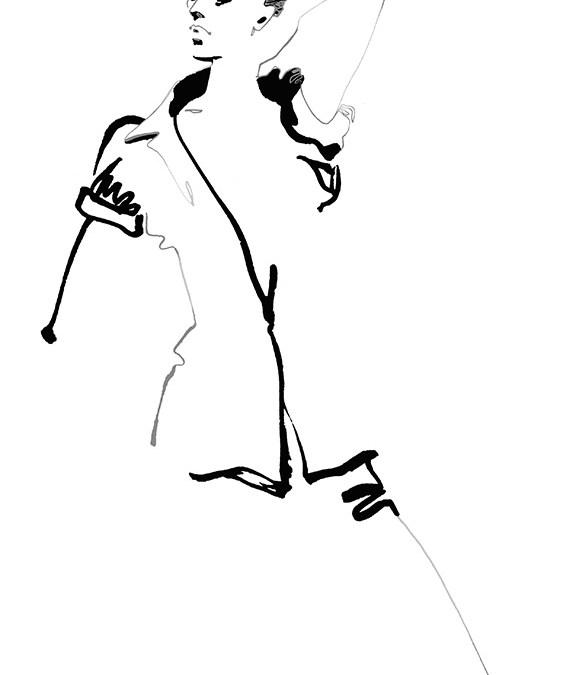 Fashion illustration // Ellie Rahim
