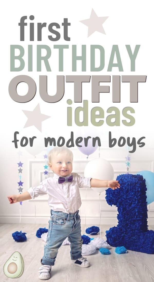 5 Modern 1st Birthday Outfits For Baby Boys 2021