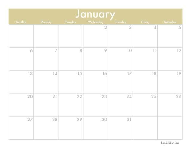 A Denver Home Companion | 2013 downloadable monthly calendar