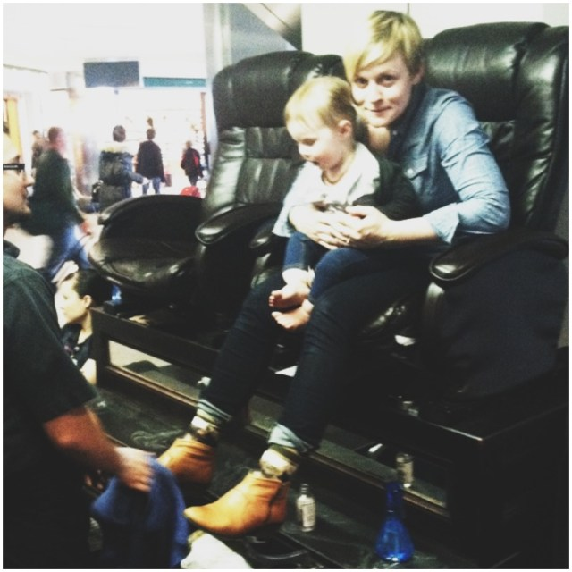 A Denver Home Companion | shoe shine at the airport