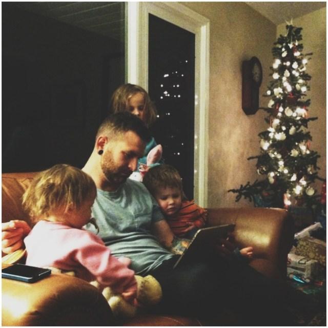 A Denver Home Companion | waiting for santa on christmas eve