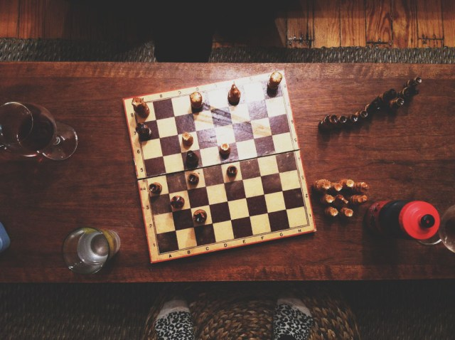A Denver Home Companion | a game of chess