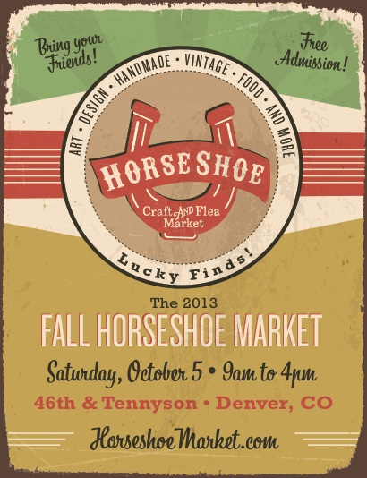 A Denver Home Companion | horseshoe craft and flea market