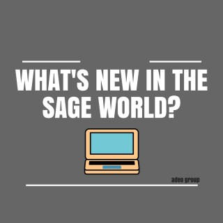 WhAT'S NEW IN THE SAGE WORLD-