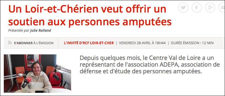 Avril – Interview contact Centre-Val de Loire