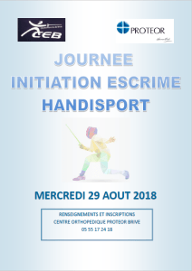 Initiation Escrime @ Brive-la-Gaillarde   Brive-la-Gaillarde   Nouvelle-Aquitaine   France