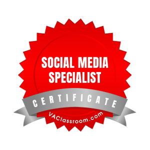 Adept VA Social Media Marketing Badge