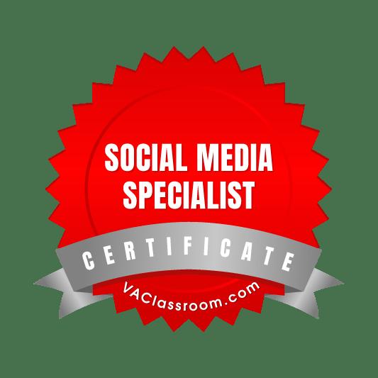 Adept VA Social Media Marketing Badge