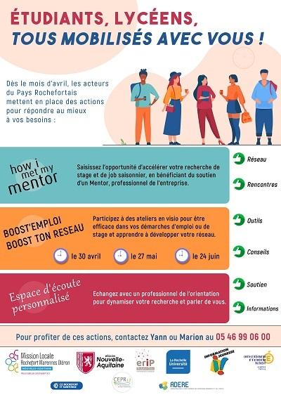 ADERE partenaire de la Mission Locale Rochefort- Marennes- Oléron